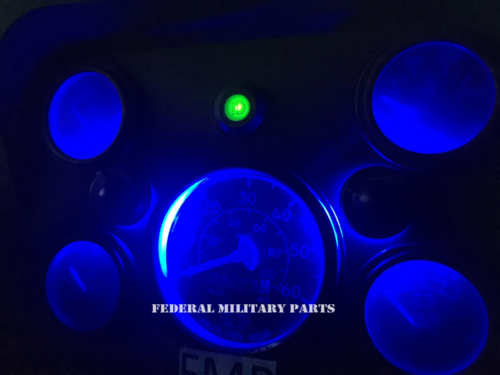 MILITARY HUMVEE DASH LIGHT / TURN SIGNAL LIGHTS LED 24V - M998 HMMWV HUMMER H1 BULB - Several color and pack size options