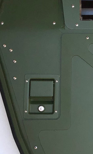 Humvee / H1 Single Locking Door Handle Latch