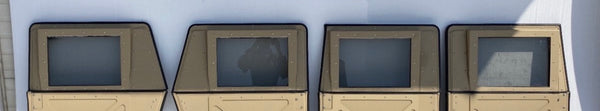 Set of four Military Humvee Split X-Doors Top Half Only