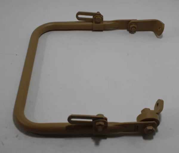 Tan Mounting Bracket for Mirror on Military Humvee - Choice of Left or Right
