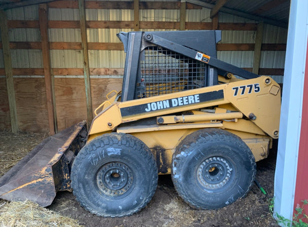 Skid Steer Wheel, Rim and Tire Adapter Plates - Adapt to 8 Lug Rims - Bobcat Skid Steer Loader
