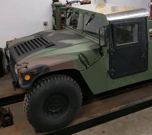 MILITARY HUMVEE STANDARD TWO MAN HARD TOP ROOF ALUMINUM M998 HMMWV