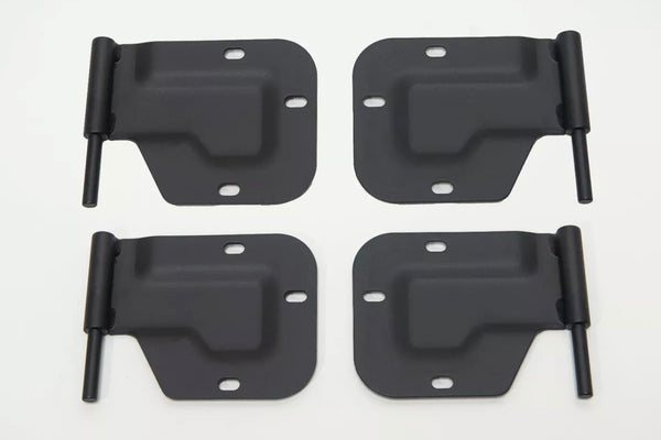 FIRST GENERATION DOOR HINGE (16 LEFT 16 RIGHT ) AND DOOR HANGER KIT - 32 EACH - COLOR CHOICE