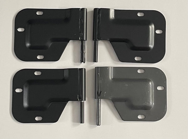 Set of Four Military Humvee Hinges Two Left and Two Right