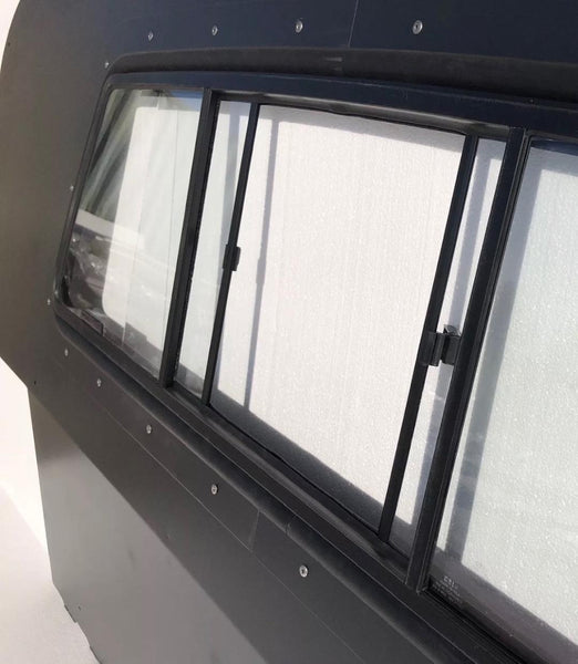 Iron Curtain (steel) with Sliding Window (2 door or 4 door vehicle)