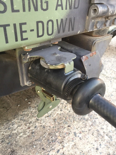 POWER CABLE (D) 12-PIN TO 4-PIN M998 HUMVEE TO CIVILIAN TRAILER