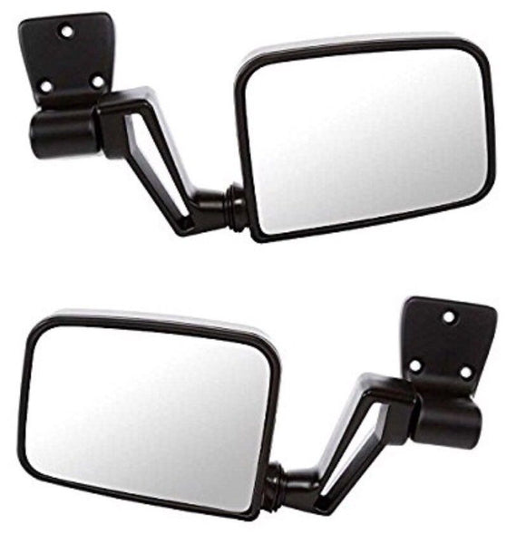 HUMVEE MIRRORS - Set Of 2 - MILITARY M998 H1 HMMWV X-DOORS HUMMER