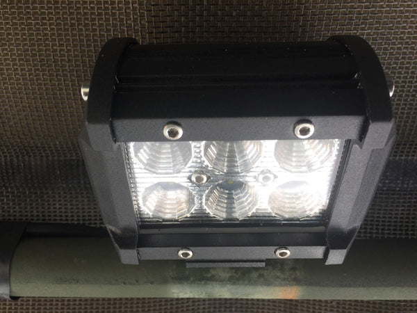 PAIR HUMVEE HMMWV INTERIOR CAB SQ LIGHT - 24V BLAZER LED FOR M998 HMMWV M1038