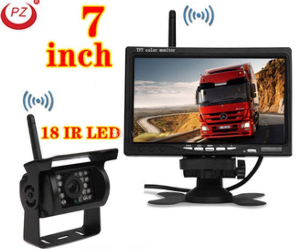 SEMI TRUCK TRACTOR TRAILER LED BACK UP Camera - 12V / 24V TRUCK TRUCKER TRUCKING