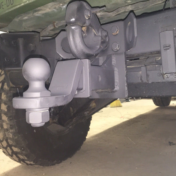 "M151A1 JEEP M880 M1009 CUCV ""PINBALL"" (TM) + LIGHT 2"" RECEIVER MILITARY HITCH"