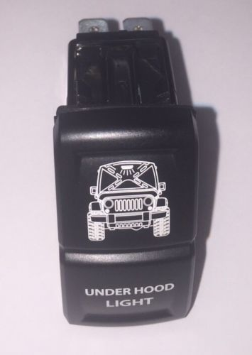 "MILITARY HUMVEE ROCKER SWITCH ""UNDER HOOD LIGHT"" M998 M1038 M1025 HMMWV"