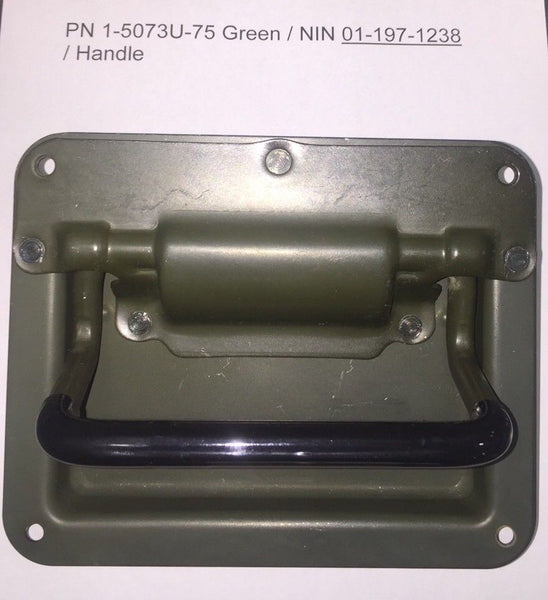 SLANTBACK HANDLE - ORIGINAL MILITARY OEM FOR SLANT BACK HUMVEE M1043A2 M1045A2 & OTHERS