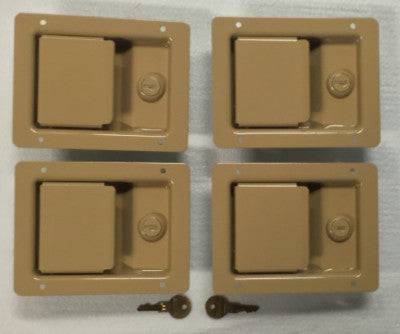 Door Handle Latch Exterior Single Locking - Humvee- Color Choice - 1, 2 or 4