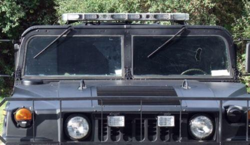 1 PIECE TINTED GREY, LAMINATED WINDSHIELD - ORIGINAL HUMVEE (TM) - MILITARY HMMWV