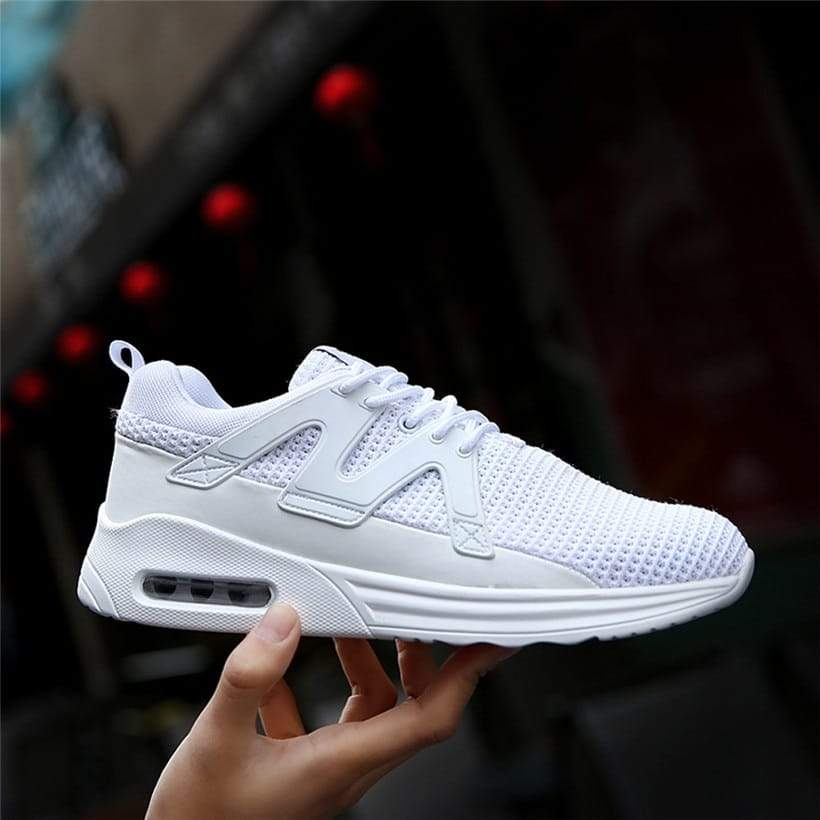 Men Running Shoes Outdoor Lace-up Man Sneakers Breathable Air Mesh Sport Shoes Running Shoes