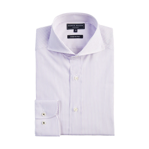 Purple Stripe Shirt