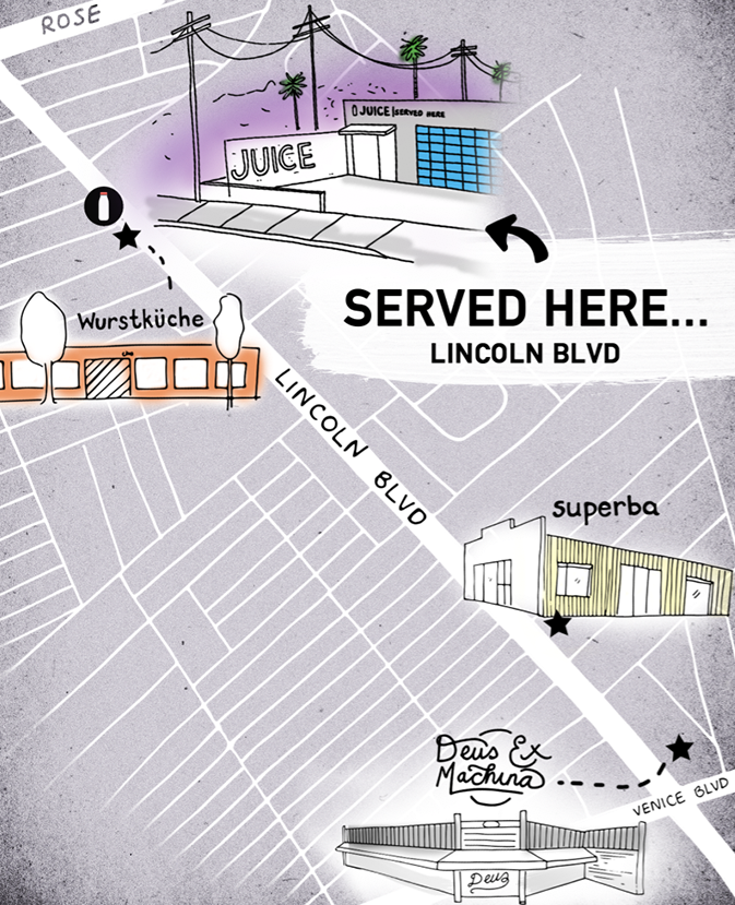 Served Here: Explore Lincoln Blvd!