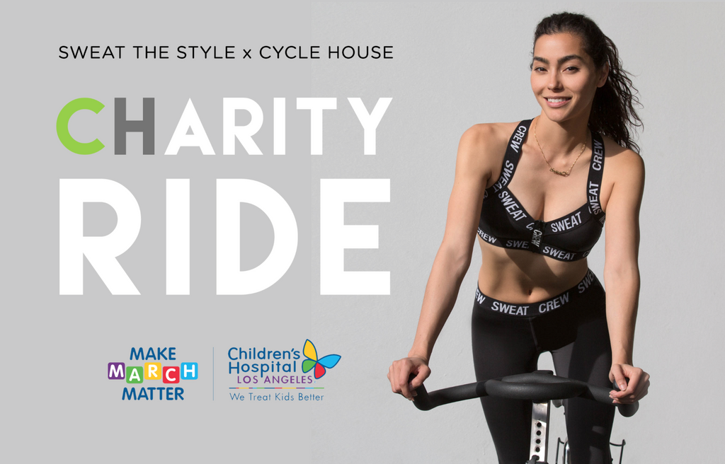 CYCLE HOUSE : CHARITY RIDE WITH ADRIANNE HO