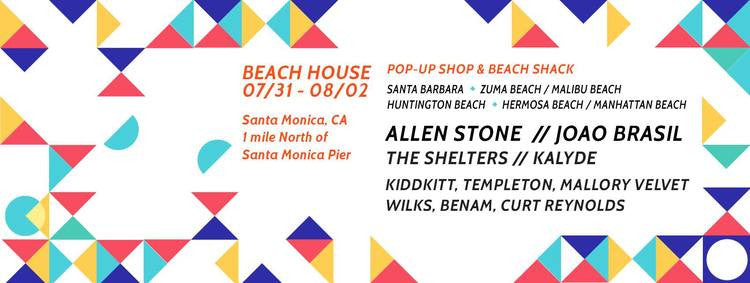 KIDDKITT SPINS IN MALIBU AUGUST 2ND - BEACH HOUSE VIBES!