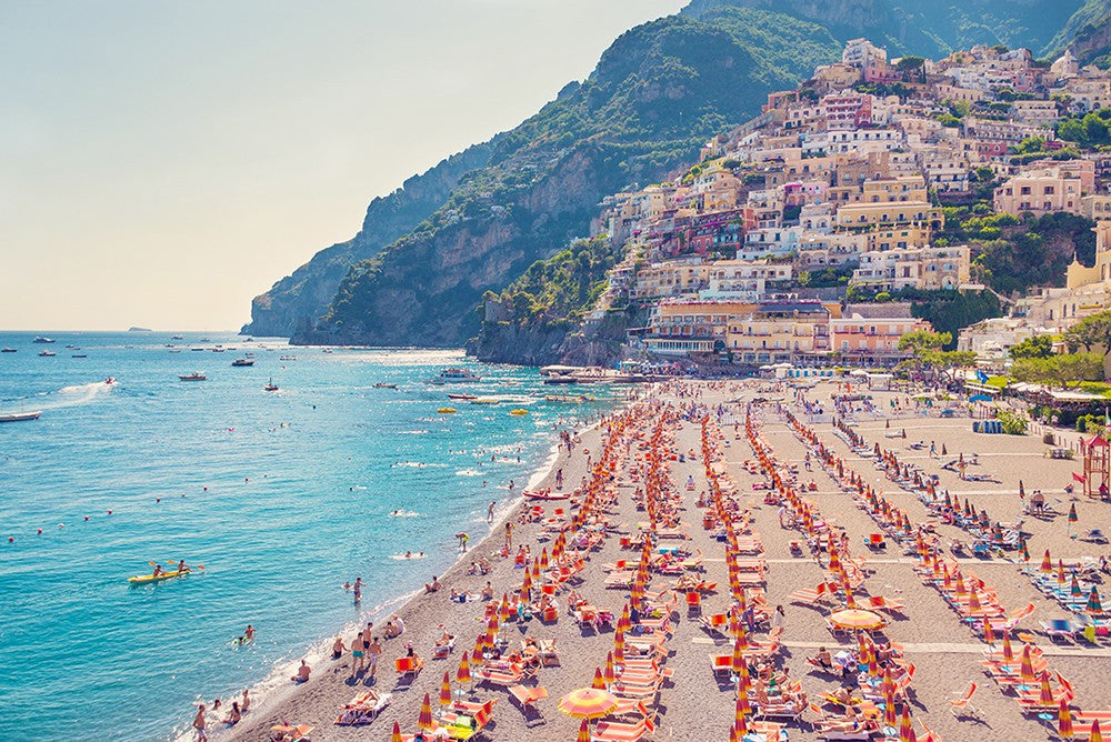 Summer in Positano, Italy