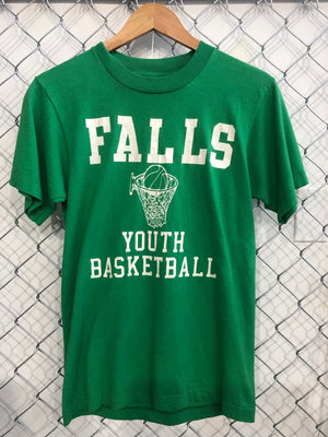 FALLS YOUTH BASKETBALL VINTAGE TEE