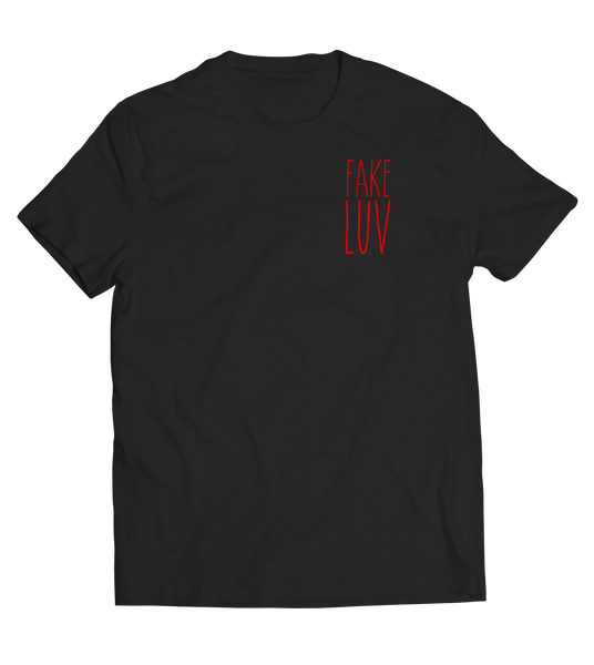 Fake Luv Text Tee - Unisex