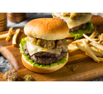 Green Chile Bacon Cheese Burger
