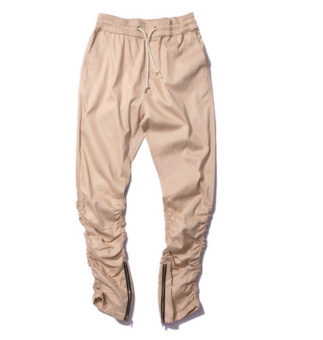 Side Zipper Jogger Pants
