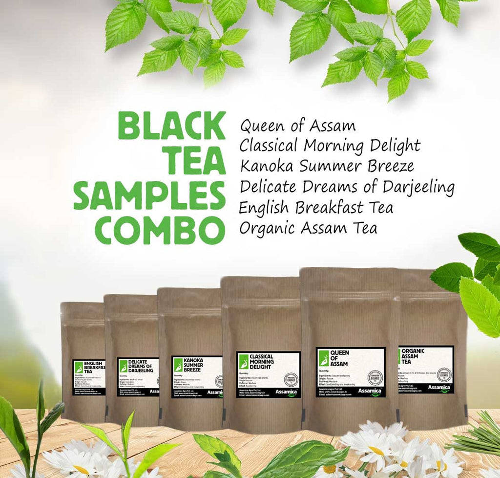 Black Tea Samples Combo