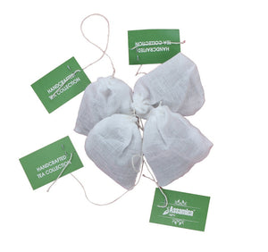 Lemongrass Green Tea Full Leaf Cotton Tea Bags