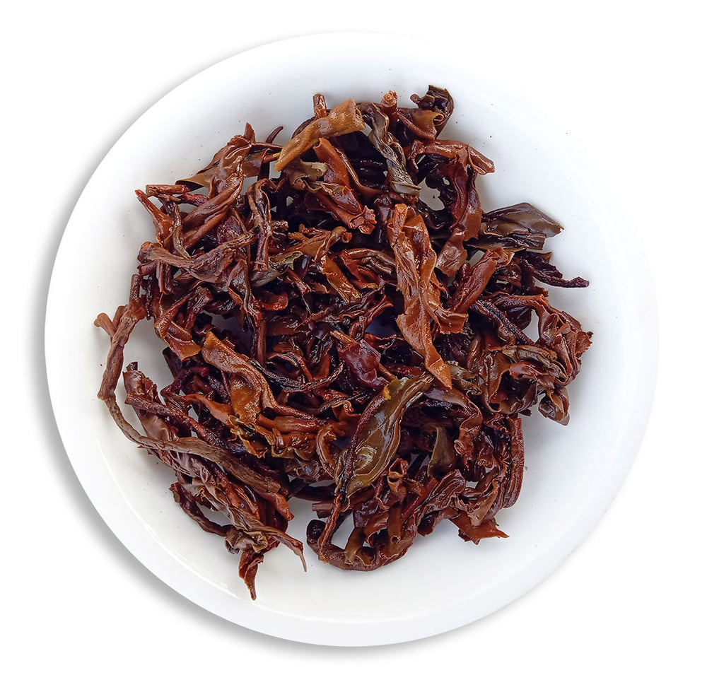 Organic Assam Tea Classical Morning Delight - Wet Leaves
