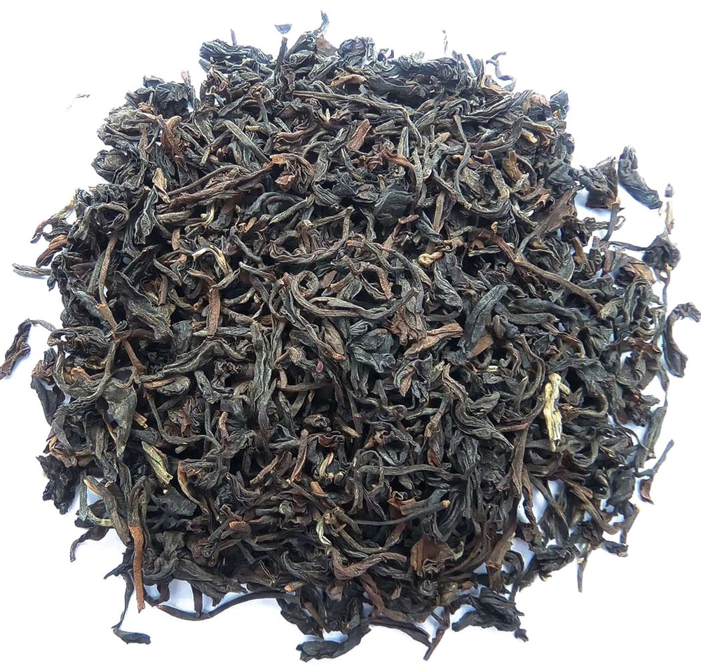Organic Assam Tea :: Kanoka - Wet Leaves