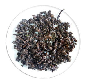 Organic Assam Tea - Wet Leaves