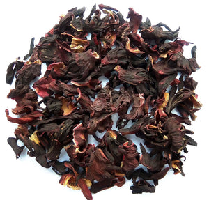 Organic Hibiscus Tea :: Zesty Hibiscus - Dry Leaves