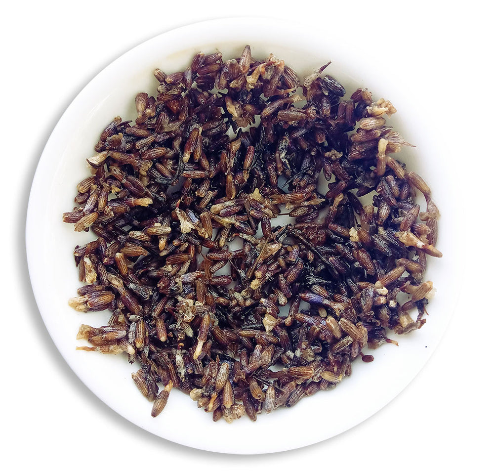 Organic Lavender Tea :: Lavender Luxury - Wet Leaves