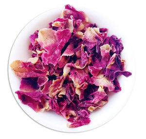 Organic Rose Tea :: Rose Delight - Wet Leaves