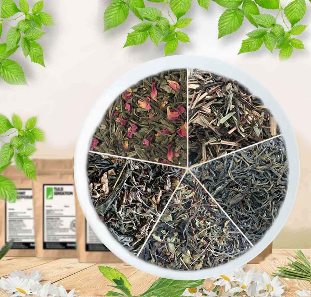 Loose Organic Green Tea Leaves - Combo
