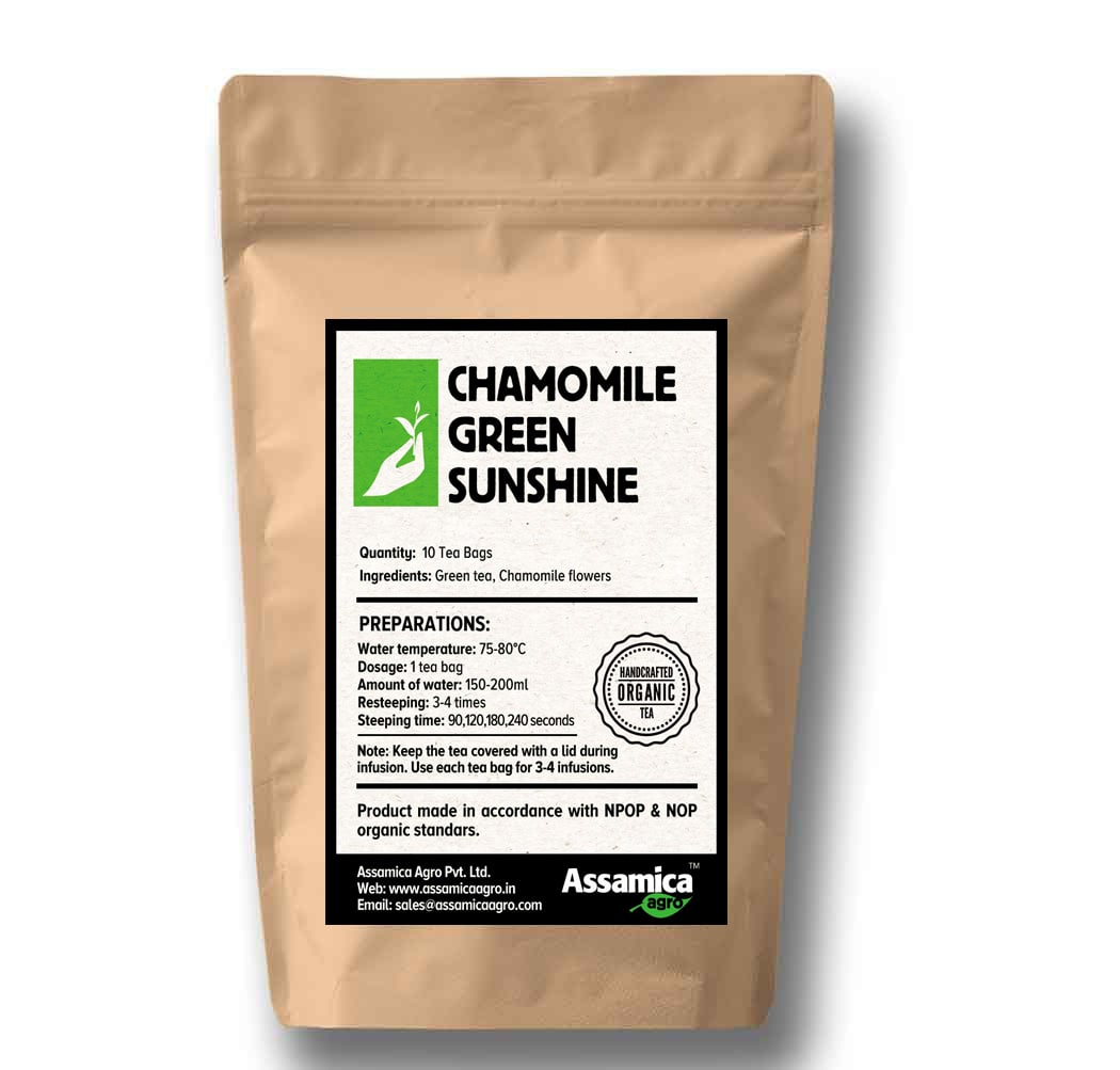 Chamomile Green - 10 Tea bags