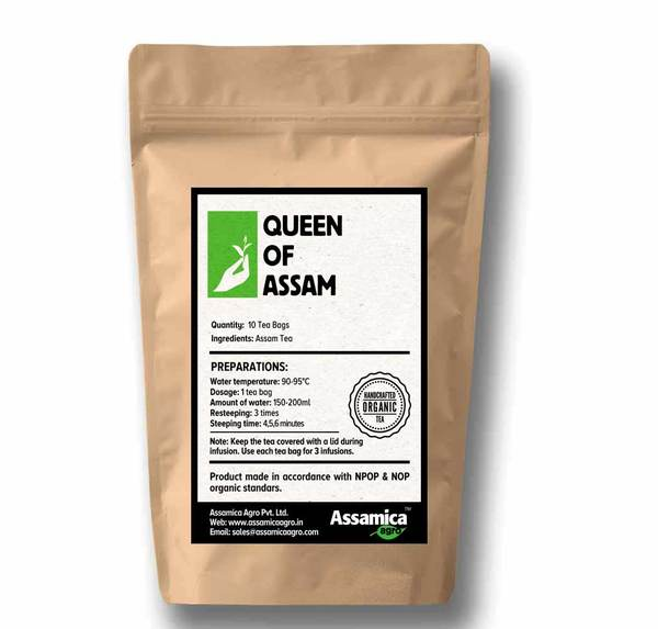 Queen Of Assam - 10 Tea Bags