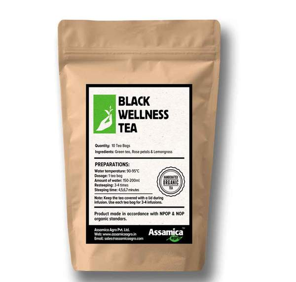 Black Wellness - 10 Tea Bags