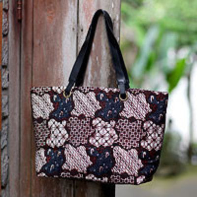 Batik Shoulder Bag, Made in Indonesia