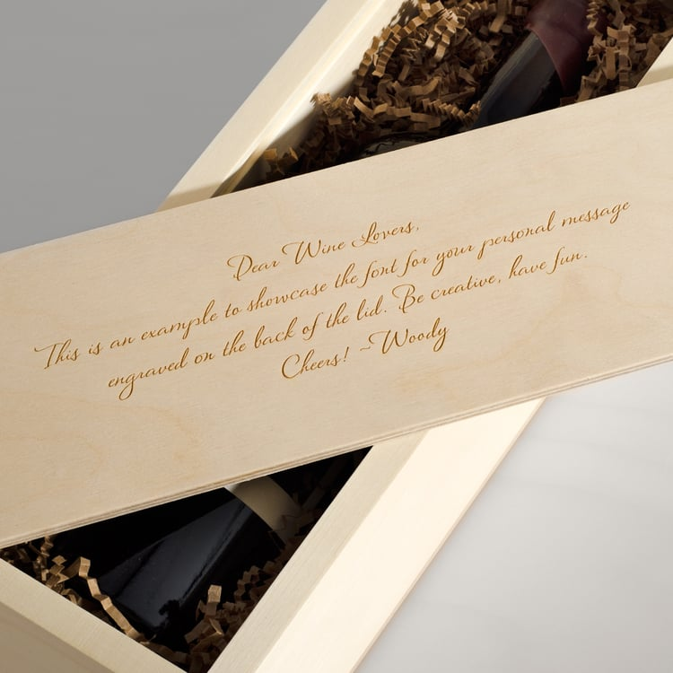 Wine Box: Inside Message