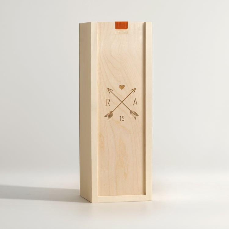 Wine Box: Love Coat of Arms