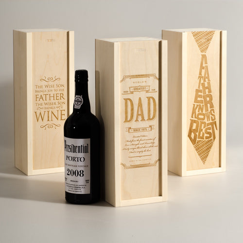 Wine Box: Honor Dad