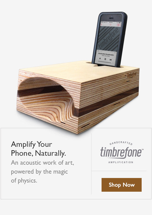 Timbrefone - phone amplifier