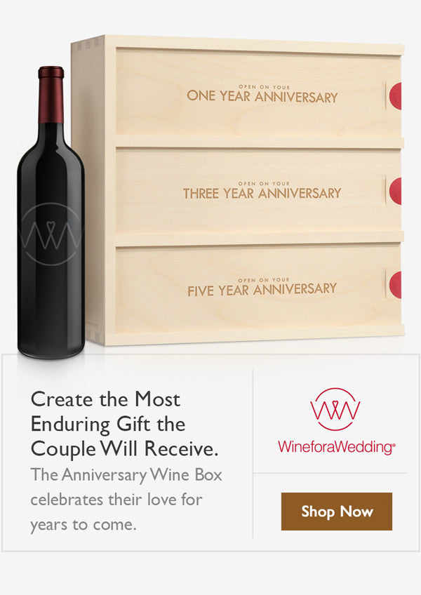 WineforaWedding - Anniversary Wine Boxes