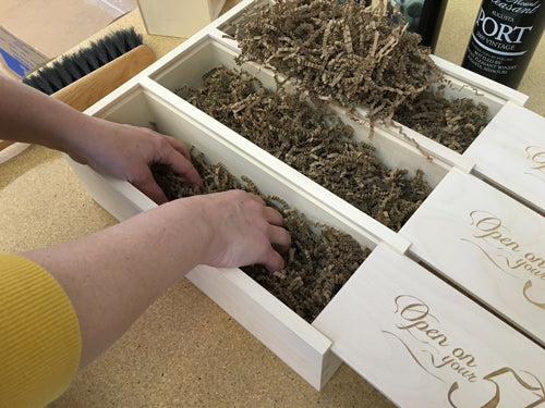 How to Pack Wine In Our Boxes: Step Two