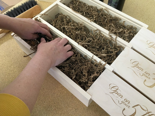 How to Pack Wine In Our Boxes: Step Four