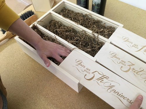 How to Pack Wine In Our Boxes: Step Five