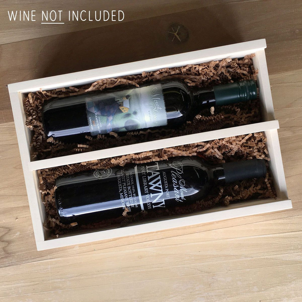 Custom 2-Bottle Wine Box